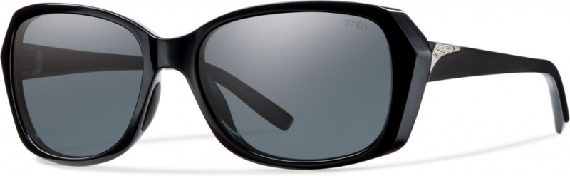 Smith Optics Eyewear Facet Black with Polarised Grey Lenses