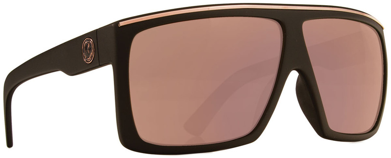 Dragon Fame Matte Black with Rose Gold Ionised Lenses