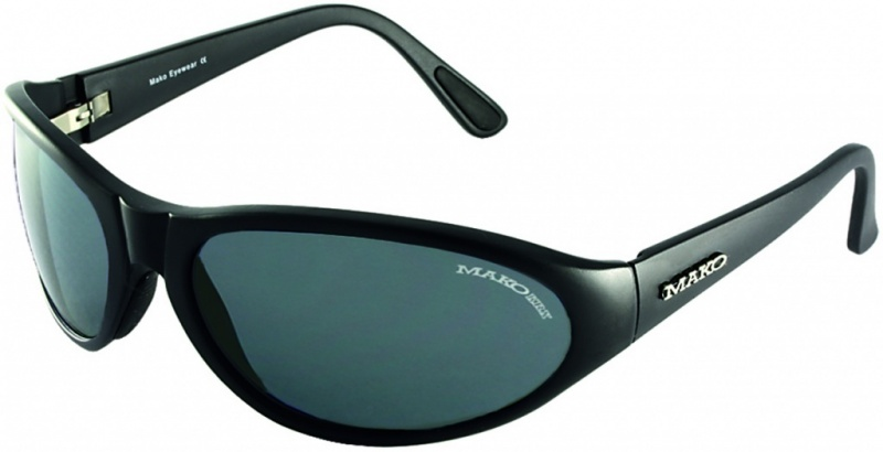 Mako Hooked Black with Grey Glass Lenses
