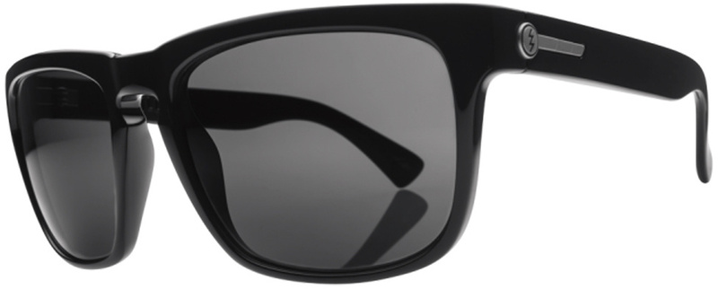 Electric Sunglasses Knoxville Gloss Black with Grey Lenses
