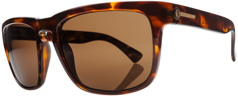 Electric Knoxville Tortoise Shell Sunglasses with Bronze Polarised Lenses