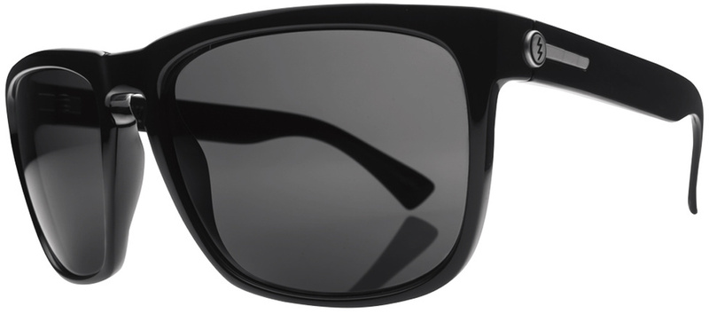 Electric Sunglasses Knoxville XL Gloss Black with Grey Lenses