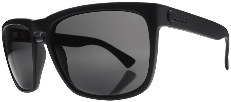 Electric Knoxville Sunnies XL Matte Black Grey Polarised