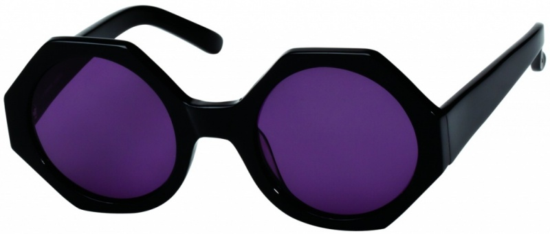 Sass and Bide La Pampa Black with Smoke Mono Lenses