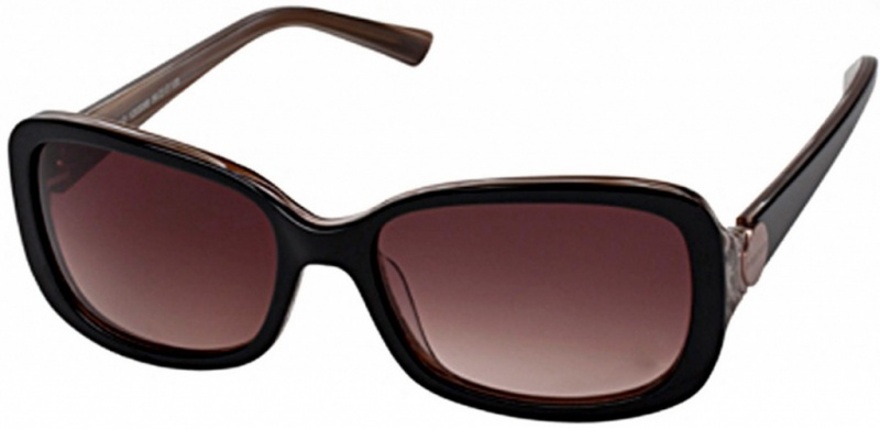 Oroton Sunglasses Manzanillo Black Brown Horn