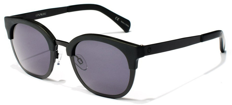 Epokhe Sunglasses Nazar Matte Black, Grey