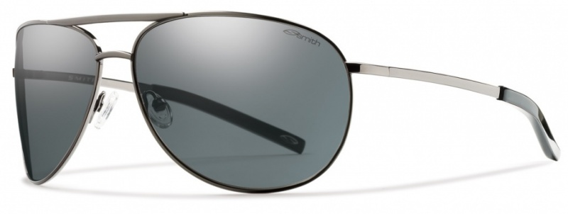 Smith Optics Eyewear Serpico Gunmetal with Polarised Grey lenses
