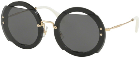 Miu Miu Sunglasses 06SS Black, Grey Lenses