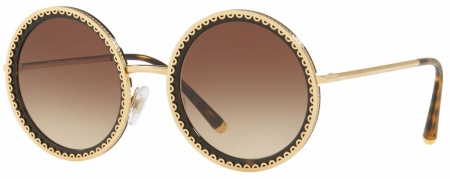 Gold Havana/Brown Gradient Lenses