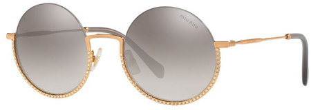 Antique Gold/Grey Silver Gradient Mirror Lenses