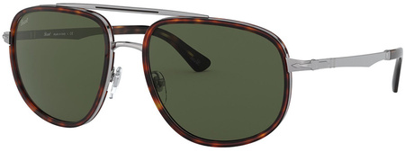 Gunmetal and Havana/Green Polarised Lenses