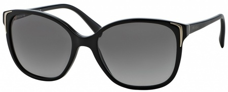 Prada PR 01OS Black with Grey Gradient Lenses