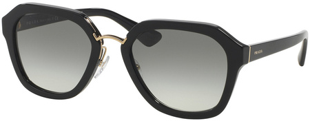 Prada PR 25RS Sunglasses Black, Grey Gradient Lenses