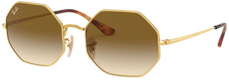Gold/Clear Brown Gradient Lenses