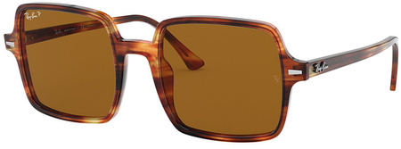 Stripped Havana/Brown Polarised Lenses