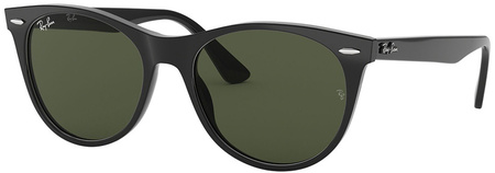 Black/Green Polarised Lenses 52 Eye Size