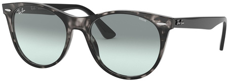 Grey Havana/Photochromic Azure Blue Gradient Lenses 55 Eye Size