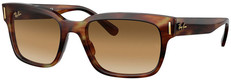 Striped Havana/Clear Gradient Brown Lenses