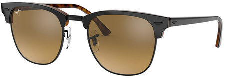 Grey Top on Havana/Brown Gradient Mirror Lenses 51 Eye Size