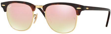 Ray Ban 3016 Sunglasses Red Havana, Copper Flash Glass