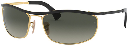 Black and Gold/Grey Gradient Lenses
