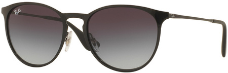 Ray Ban 3539 Sunglasses Black, Grey Gradient Lenses