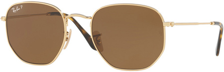 Gold/Brown Polarised Lenses 54 Eye Size