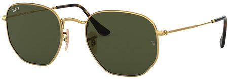 Gold/Green Polarised Lenses 51 Eye Size