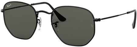 Black/Grey Green Polarised Lenses 51 Eye Size