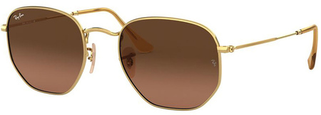 Gold/Brown Gradient Lenses 51 Eye Size