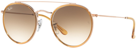 Ray Ban 3647N Sunglasses Bronze Copper, Light Brown/Light Brown G15