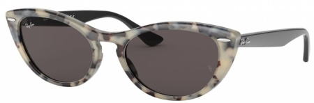 Havana Beige/Grey Gold Mirror Lenses