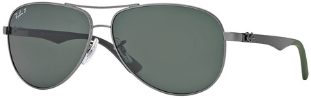 Gunmetal/Grey Polarised Lenses 61 Eye Size