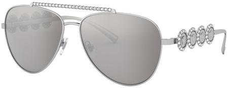 Silver/Light Grey Silver Mirror Lenses