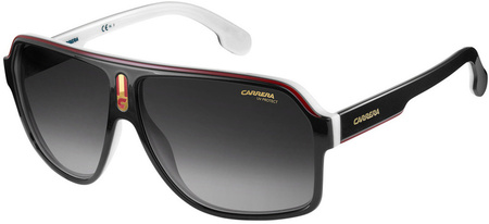 Carrera Sunnies 1001/S Black, White/Grey Gradient