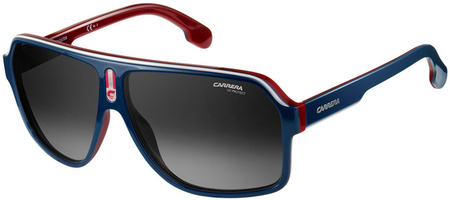 Carrera Sunnies 1001/S Blue, Red, White/Grey Gradient