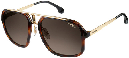 Carrera Sunnies 1004/S Havana, Gold/Brown Gradient