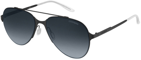 Carrera Sunnies 113/S Matte Black Metal, Grey Lenses