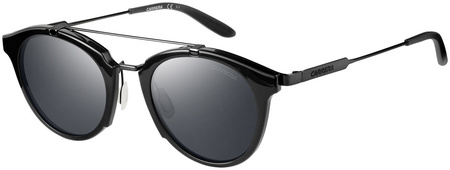 Carrera Sunnies 126/S Shiny Black, Black Lenses