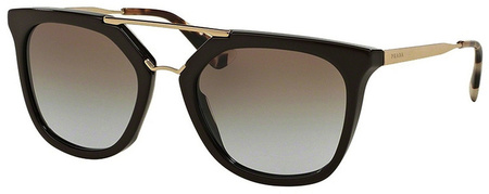 Prada PR 13QS Sunglasses Brown, Light Brown Lenses