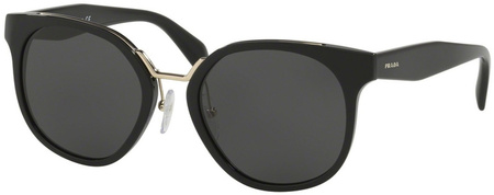 Prada PR 17TS Sunglasses Black, Grey Lenses