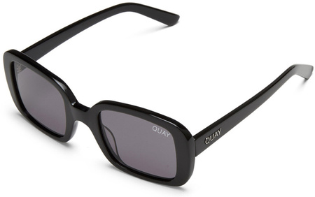 Quay 20'S Sunglasses Black, Smoke Lenses