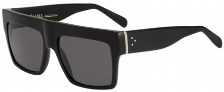 Celine ZZ Top 41756 Black with Grey Lenses