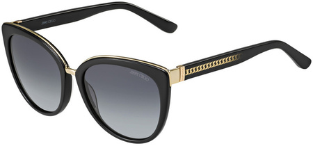 Jimmy Choo Dana Sunglasses Black, Grey Gradient Lenses