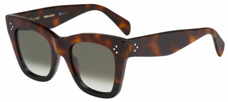 Celine Cathrine Sunglasses Havana Black, Grey Gradient