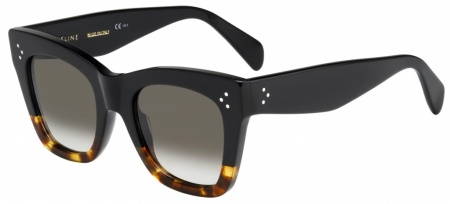 Celine Sunglasses Cathrine Black Tort Brown Gradient