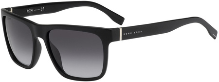 Boss By Hugo Boss Sunnies 0727/S Matte Black, Grey Lenses