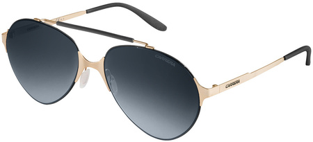 Carrera Sunnies 124/S Gold, Grey Gradient Lenses