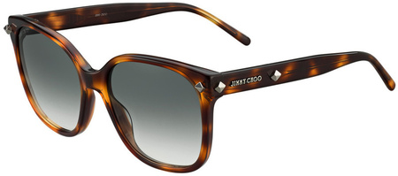 Jimmy Choo Dema Sunglasses Havana, Grey Gradient Lenses