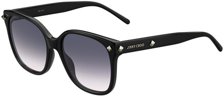 Jimmy Choo Dema Sunglasses Black, Grey Gradient Lenses